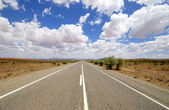 Road in Australia — Stock fotografie