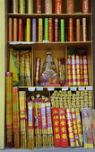 Incense shop in China — Stock Photo