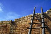 Hopi stairs — Stock Photo