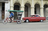 Transportation at Cuba — Stock Photo