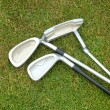 Golf clubs — Stock Photo