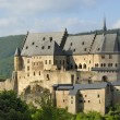 The old castle of Vianden - Stock Photo