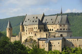 The old castle of Vianden — Stock Photo