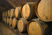 Alter Wein cave — Stockfoto