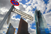 Potsdammer Platz in Berlin — Stock Photo