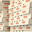 Pizzboxes — Stock Photo #8571904