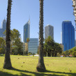 Vieuw at Perth in Australia — Stock Photo