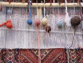 Weaving loom — Stock Photo