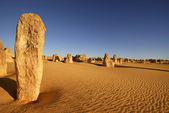 Pinnacles desert in Western Australia — Stock fotografie