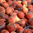 Fresh peaches - Stock Photo