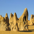Stock Photo: Pinnacles desert
