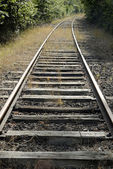 Train rails — Stock Photo