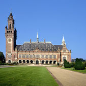 The Peace Palace in The Hague( Holland) — Stock Photo