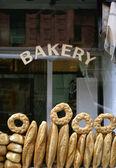 A bread bakery — Stock Photo