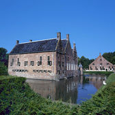The Menkemaborg a castle in Uithuizen — Stock Photo
