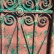 Iron fence — Stock Photo