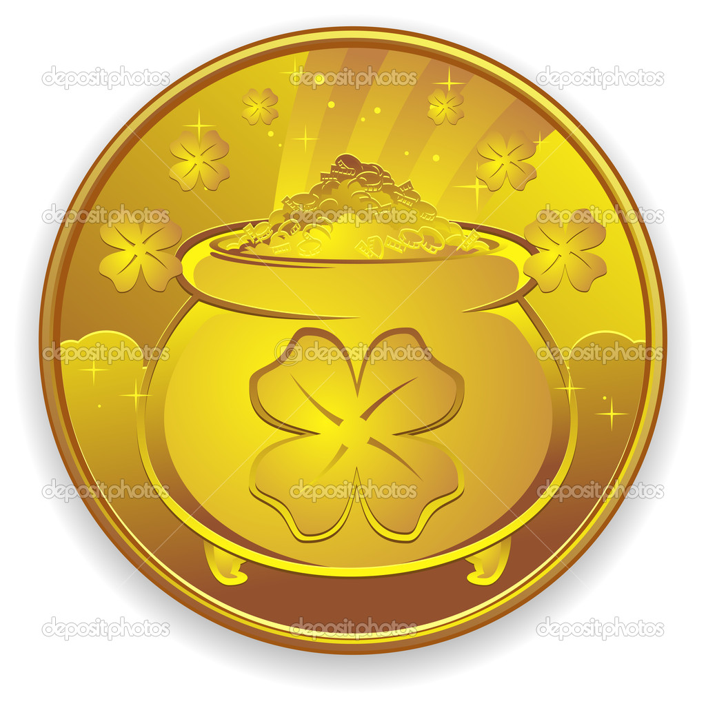 lucky golden coin wow