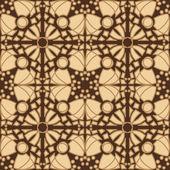 бесшовные коричневые плитки — Cтоковый вектор