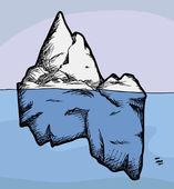 Iceberg. — Vecteur