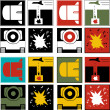 Stock Photo: Logos of War