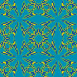 Seamless Arabic Pattern — 图库照片