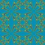 Seamless Arabic Pattern — Stock Photo