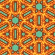 Stock Photo: Seamless Kaleidoscope Pattern