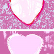 Pretty Pink Hearts — Stock Photo