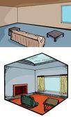 Modern Living Rooms — Stock Photo