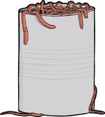 Can Of Worms — Stock Photo