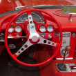 Corvette Dashboard — Stock Photo