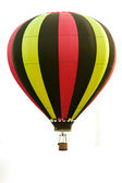 Flying Hot Air Balloon — Stock Photo