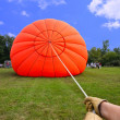 Inflating a Hot Air Balloon — Stock Photo #9262286