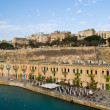 Valletta, Malta Harbor — Stock Photo