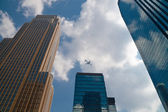 Tall City Buildings — Stock Photo