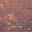 Red Brick Wall Background — Stock Photo #9374905