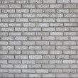 Gray Brick Wall Background — Stock Photo