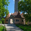 Rothenburg Entrance Gate — Stock Photo
