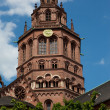 Clock Tower on German Church — Stock Photo