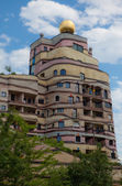 Waldspirale Apartment Building — Stock Photo