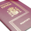 Spain passport — Foto Stock