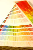 Color guide open in vertical — Stock Photo