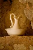 Classic wash basin and jug — Stock Photo