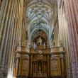 The Choir in Santa Maria Cathedal of Astorga. Spain — Stock Photo