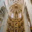 Choir and Orgin SantMariCathedal of Astorga. Spain — Stock Photo #8441905