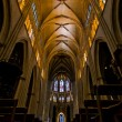 Principal Dome of Sainte-Marie de Bayonne Cathedral. France — Stock Photo