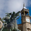 Stock Photo: Mayor Square in Trujillo. Caceres, Spain.