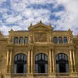 Victoria Eugenia Theatre in San Sebastian. Spain - Stock Photo