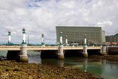 San sebastian - kursaal bridge — Stock Photo