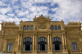 Victoria Eugenia Theatre in San Sebastian. Spain — Stock Photo